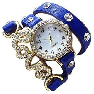 kayra fashion Swan Blue Love Dori 03 Blue love dori for woman girls watch Watch - For Women