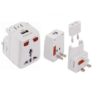 3 in 1 Charger(Car, Travel and USB)