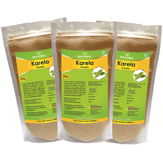 Biotrex Karela Powder - Control Blood Sugar Level(200g)  Pack Of 3