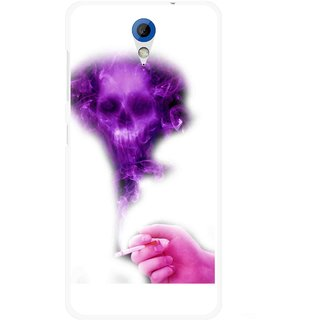 Snooky Printed Danger Mobile Back Cover For HTC Desire 620 - Multicolour