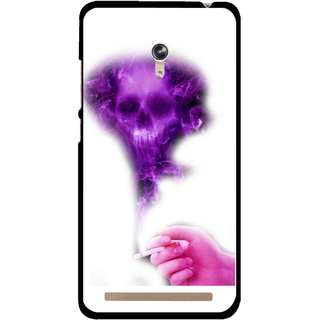 Snooky Printed Danger Mobile Back Cover For Asus Zenfone 6 - Multicolour