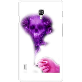 Snooky Printed Danger Mobile Back Cover For Lg Optimus L7 II P715 - Multicolour