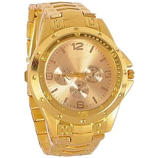 True Colors Sobber Gold Trend Maker Analog Watch - For Men