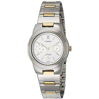 Timex Analog Silver Round Watch -TW000J108
