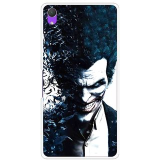Snooky Printed Freaking Joker Mobile Back Cover For Sony Xperia Z2 - Black
