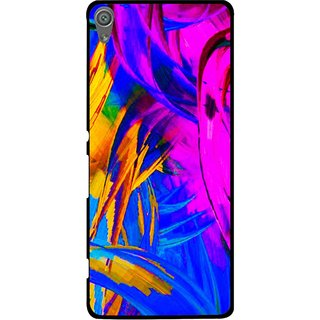 Snooky Printed Color Bushes Mobile Back Cover For Sony Xperia XA1 - Multi