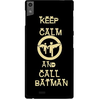 Snooky Printed Keep Calm Mobile Back Cover For Gionee Elife S5.5 - Black