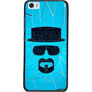 Snooky Printed Beard Man Mobile Back Cover For Xiaomi Mi5 - Blue