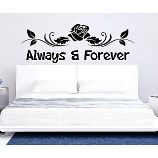 EJA Art Always And Forever Covering Area 120 x 45 Cms Multi Color Sticker