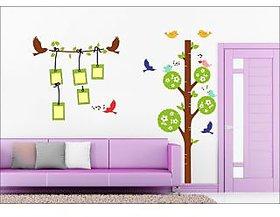 EJA Art Photo Frame Tree Covering Area 120 x 100 Cms Multi Color Sticker