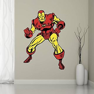 EJA Art super hero Covering Area 60 x 45 Cms Multi Color Sticker