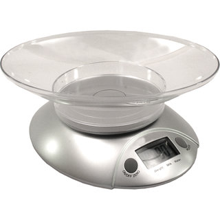 Digital Liquid Kitchen Diet Food Weight Weighing Scale 11LB 5KG with Bowl