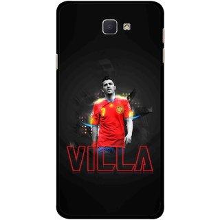 Snooky Printed Sports Villa Mobile Back Cover For Samsung Galaxy J7 Prime - Multicolour