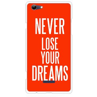 Snooky Printed Never Loose Mobile Back Cover For Micromax Canvas Selfie 3 Q348 - Orange