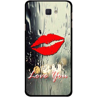 Snooky Printed Love You Mobile Back Cover For Samsung Galaxy J7 Prime - Multicolour
