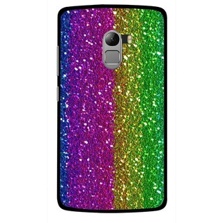 Snooky Printed Sparkle Mobile Back Cover For Lenovo K4 Note - Multicolour