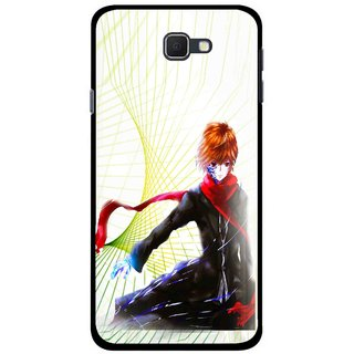 Snooky Printed Stylo Boy Mobile Back Cover For Samsung Galaxy J5 Prime - Multicolour