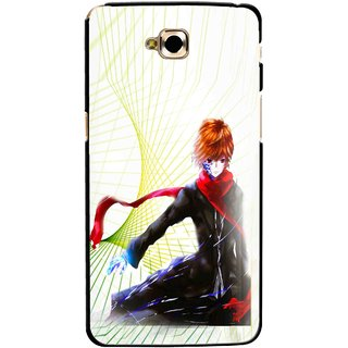 Snooky Printed Stylo Boy Mobile Back Cover For Lg G Pro Lite - Multicolour