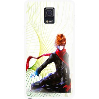 Snooky Printed Stylo Boy Mobile Back Cover For Samsung Galaxy Note 4 - Multicolour