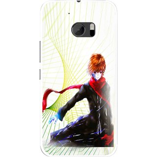 Snooky Printed Stylo Boy Mobile Back Cover For HTC One M10 - Multicolour