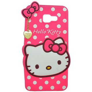 194891695 Cantra 3D Hello Kitty Back Cover For Samsung Galaxy A5 (2016) - Pink