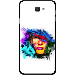 Snooky Printed Dashing Girl Mobile Back Cover For Samsung Galaxy J7 Prime - Multicolour