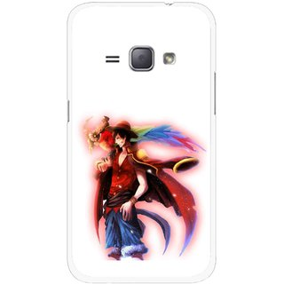 Snooky Printed Free Mind Mobile Back Cover For Samsung Galaxy J1 - Multicolour