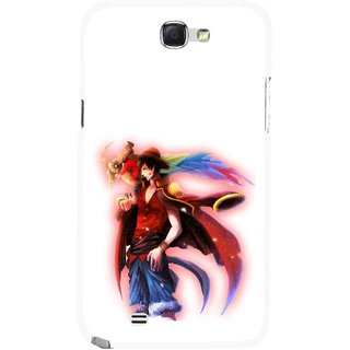 Snooky Printed Free Mind Mobile Back Cover For Samsung Galaxy Note 2 - Multicolour