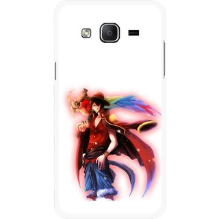 Snooky Printed Free Mind Mobile Back Cover For Samsung Galaxy On7 - Multicolour