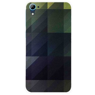 Snooky Printed Geomatric Shades Mobile Back Cover For HTC Desire 826 - Multi