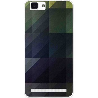 Snooky Printed Geomatric Shades Mobile Back Cover For Vivo X5 Max - Multi