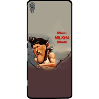 Snooky Printed Bhaag Milkha Mobile Back Cover For Sony Xperia XA1 - Multi