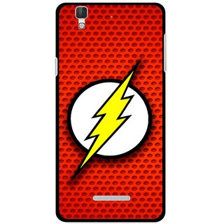 Snooky Printed Dont Touch Mobile Back Cover For Micromax Yu Yureka Plus - Red