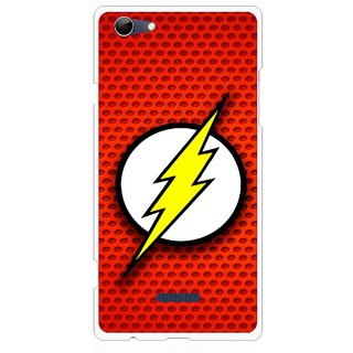 Snooky Printed Dont Touch Mobile Back Cover For Micromax Canvas Selfie 3 Q348 - Red