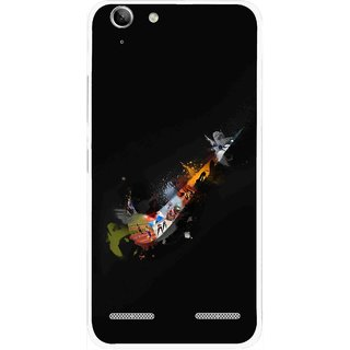 Snooky Printed All is Right Mobile Back Cover For Lenovo Vibe K5 Plus - Black