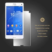 Sony Xperia Z3 COMPACT FRONT  BACK Clear Screen Guard