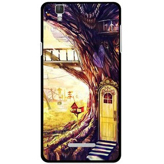 Snooky Printed Dream Home Mobile Back Cover For Micromax Yu Yureka Plus - Multi
