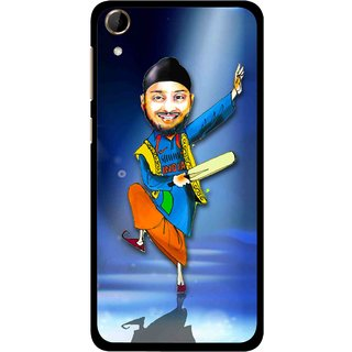 Snooky Printed Balle balle Mobile Back Cover For HTC Desire 728 - Blue
