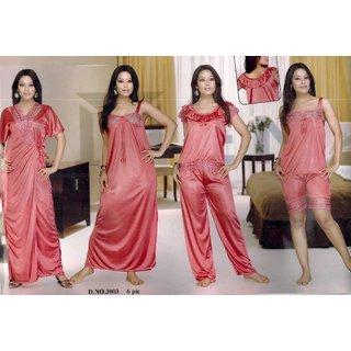 ff1440d7c1 Buy Sexy Top Hot Shorts Sleep Shirt Capri Nighty   Over Coat Womens Bed  3003 Night Online- Shopclues.com
