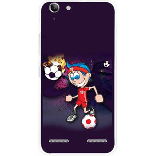 Snooky Printed My Game Mobile Back Cover For Lenovo Vibe K5 Plus - Puple