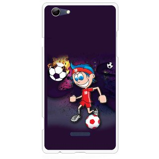 Snooky Printed My Game Mobile Back Cover For Micromax Canvas Selfie 3 Q348 - Puple