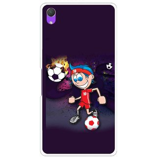 Snooky Printed My Game Mobile Back Cover For Sony Xperia Z2 - Puple