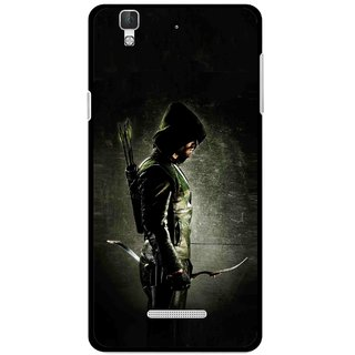 Snooky Printed Hunting Man Mobile Back Cover For Coolpad Dazen F2 - Black