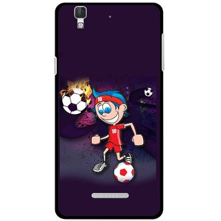 Snooky Printed My Game Mobile Back Cover For Coolpad Dazen F2 - Puple