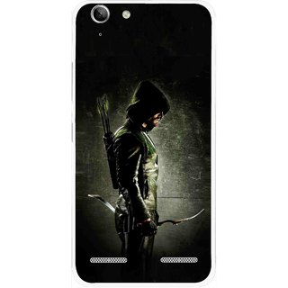 Snooky Printed Hunting Man Mobile Back Cover For Lenovo Vibe K5 Plus - Black