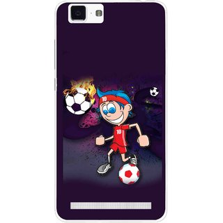 Snooky Printed My Game Mobile Back Cover For Vivo X5 Max - Puple