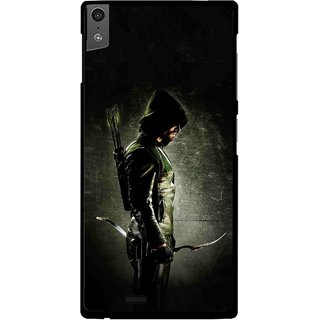 Snooky Printed Hunting Man Mobile Back Cover For Gionee Elife S5.5 - Black