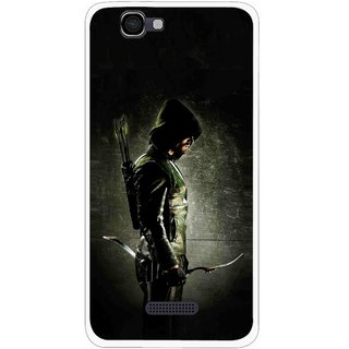 Snooky Printed Hunting Man Mobile Back Cover For Micromax Canvas 2 A120 - Black
