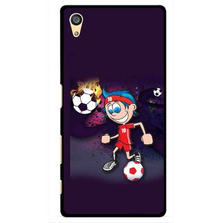 Snooky Printed My Game Mobile Back Cover For Sony Xperia Z5 Plus - Puple