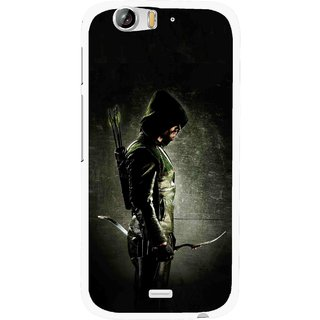 Snooky Printed Hunting Man Mobile Back Cover For Micromax Canvas Turbo A250 - Black